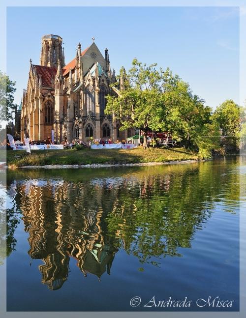 Stuttgart Feuersee - Biserica de pe lac