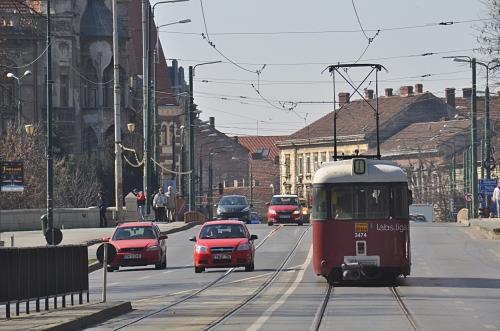 Trafic in centrul Timisoarei